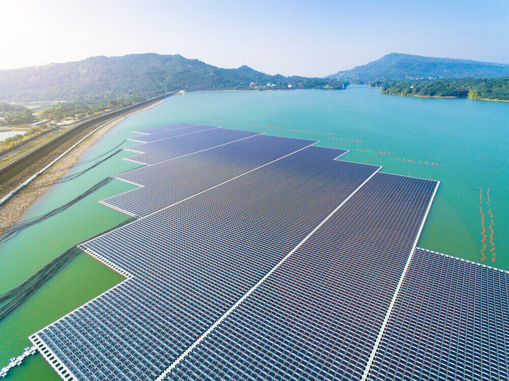 building of solar farms has potential in other parts of the world