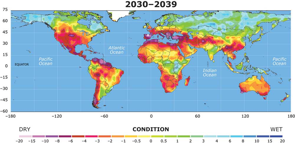 Forecast of global drought